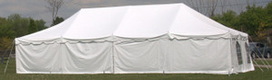 7' x 30' Solid Tent Sidewall (Shown as 40')