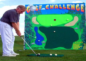 Golf Chipping Challenge Frame Game Rental Starting At: