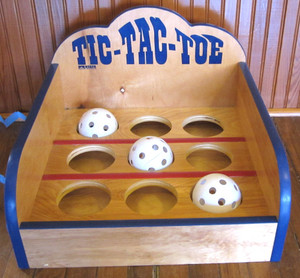 Tic Tac Toe Tabletop Carnival Game