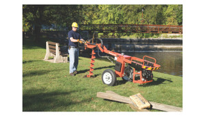 1 Man Tow Behind Post Hole Digger Rental Starting At: