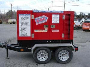 45,000 Watt Tow Behind Diesel Generator Rental Starting At: