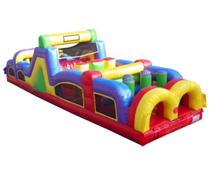 40' Obstacle Course Rental Starting At: