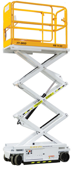 16' Electric Scissor Lift Rental Starting At: