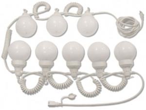 String Lights (30' White Globe)
