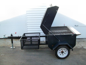 Towable Propane Gas Grill / Pig Roaster