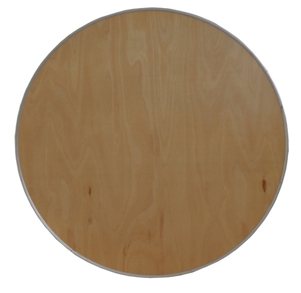 """30"""" Round Wooden Cocktail/Bistro Table Top Only Top View"""