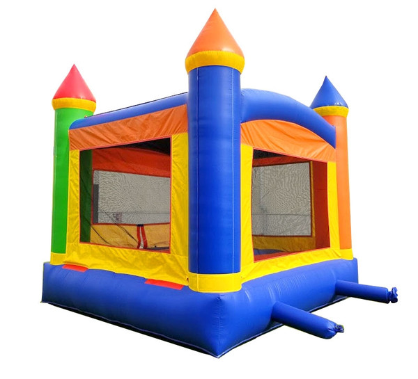 Rainbow Bounce House Rental Starting At: