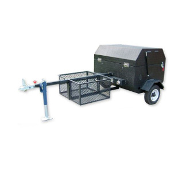 Towable Propane Gas Grill / Pig Roaster Clean