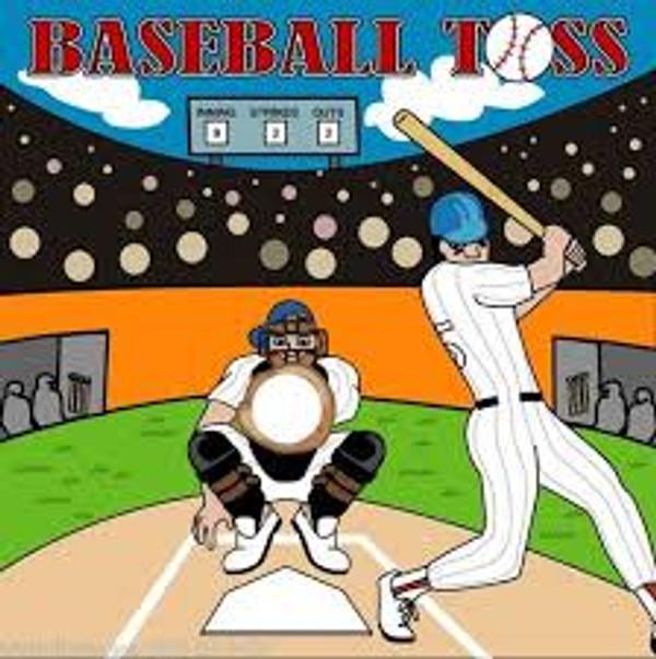 Baseball Toss Frame Game 2