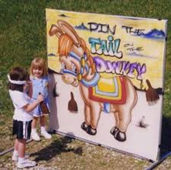Pin The Tail On The Donkey Frame Game 2