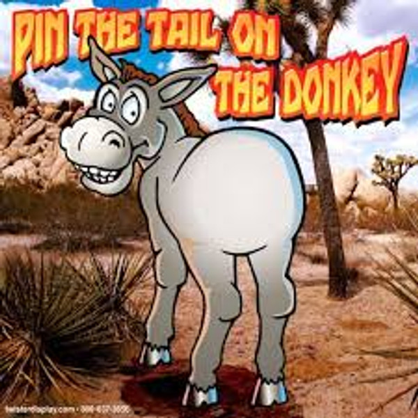 Pin The Tail On The Donkey Frame Game 3
