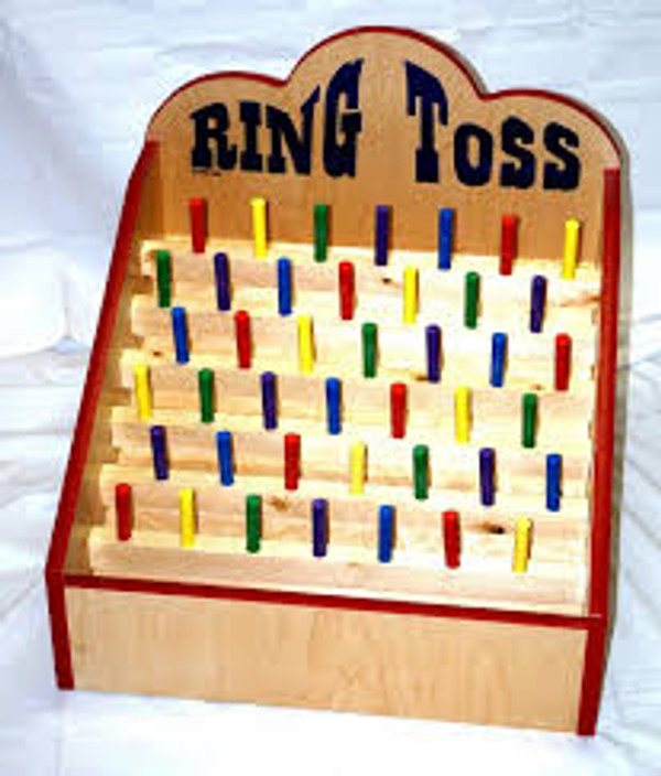 Ring Toss Tabletop Carnival Game