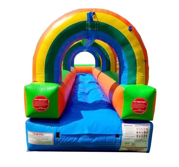 25' Rainbow Single Lane Slip & Slide HB Rental Starting At: