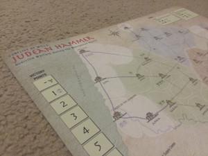 Judean Hammer canvas map
