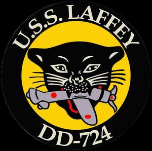 USS Laffey Association patch