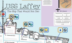 USS Laffey Extra Pads