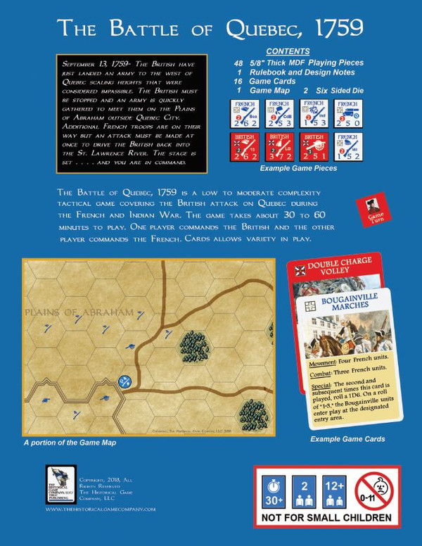 The Battle of Quebec, 1759