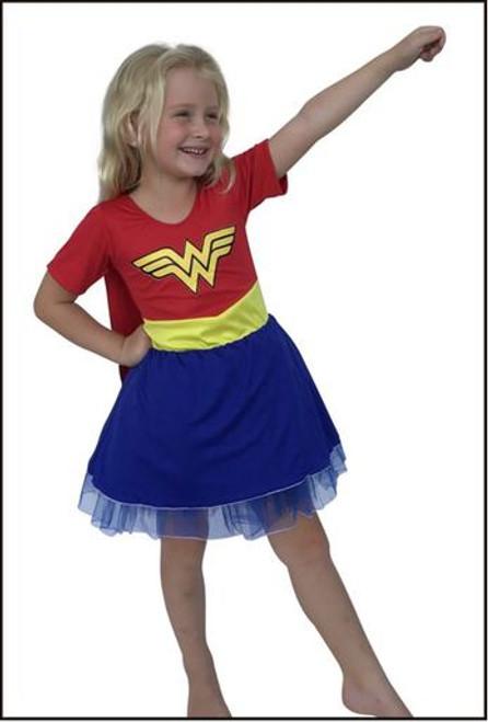 21985 Wonder Woman kids costume