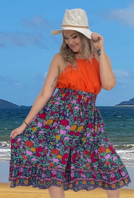 11951 Tanya Skirt Boho