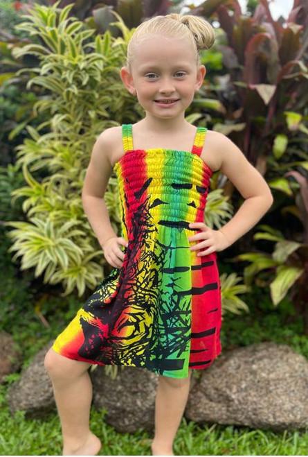 18985 Emma Kids Shirring Dress Freedom