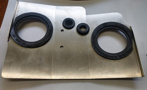 LC8 mid engine heat shield