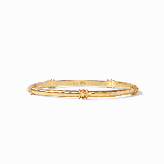 Savannah Stone Bangle -  BG195GPL-M