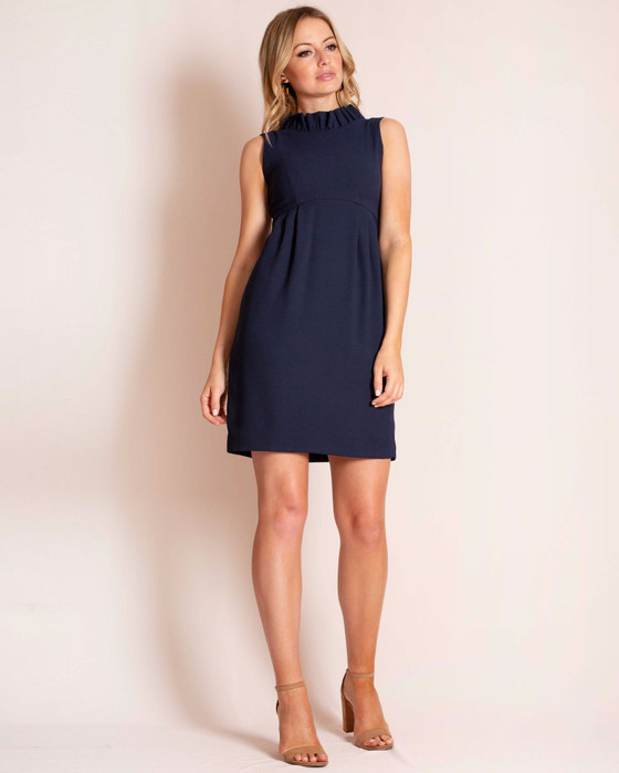 Go Go Dress in Navy