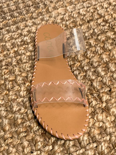 Seeing Clearly Sandals