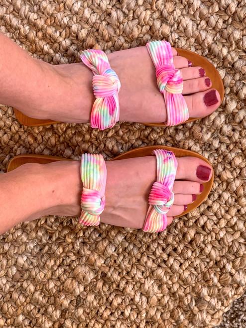 Jenny Tie Dye Sandals