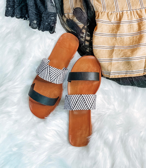 Lizzie Aztec Sandals