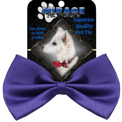 Plain Purple Bow Tie