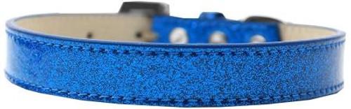 Tulsa Plain Ice Cream Dog Collar Blue Size 14