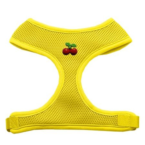 Red Cherry Chipper Yellow Harness Medium
