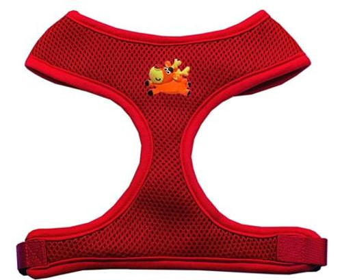 Reindeer Chipper Red Harness Large