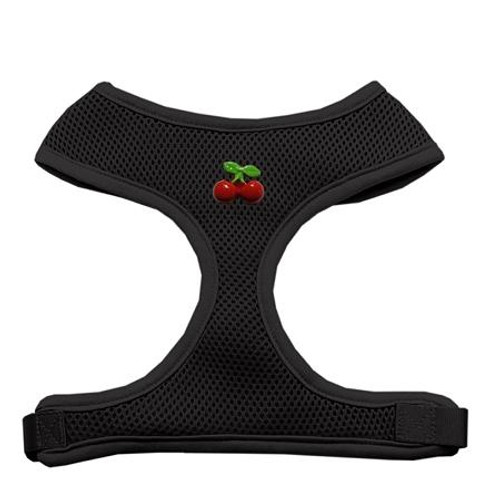Red Cherry Chipper Black Harness Large