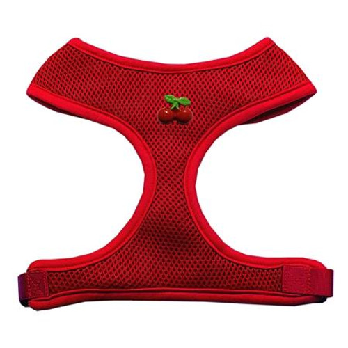 Red Cherry Chipper Red Harness Large