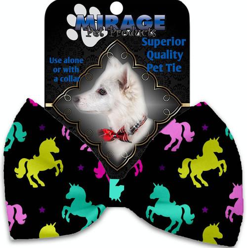 Confetti Unicorns Pet Bow Tie