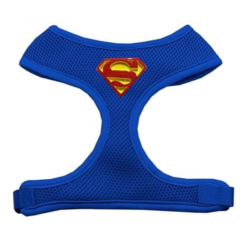 Traditional Super Chipper Blue Harness Large