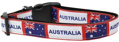 Australia Nylon Dog Collar Large