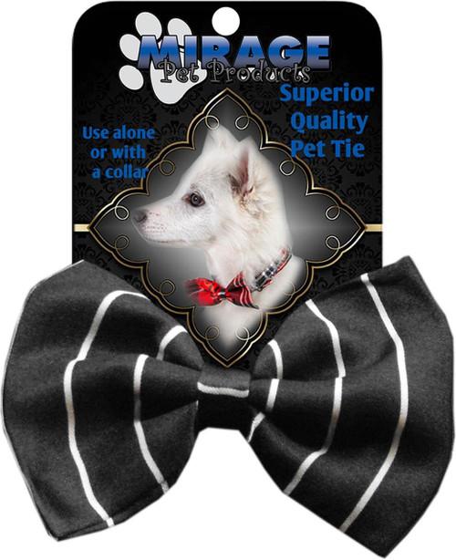 Dog Bow Tie Pinstripes