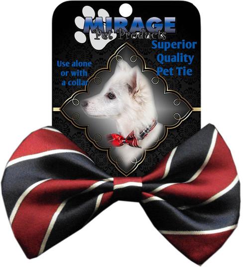 Dog Bow Tie Stripes Classic