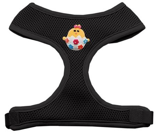 Easter Chick Chipper Black Harness Large