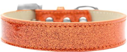 Lincoln Plain Ice Cream Dog Collar Orange Size 20