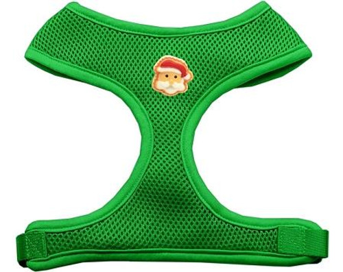 Santa Face Chipper Emerald Harness Medium