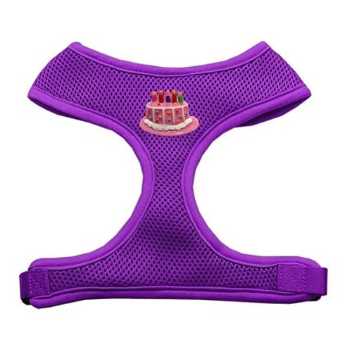 Pink Birthday Cake Chipper Purple Harness Large