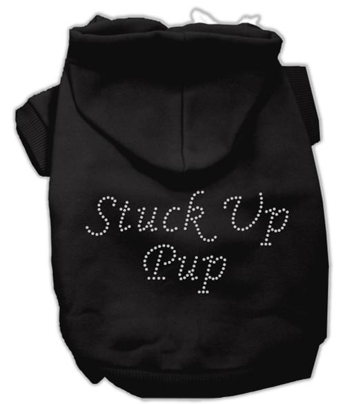 Stuck Up Pup Hoodies Black Xxxl(20)