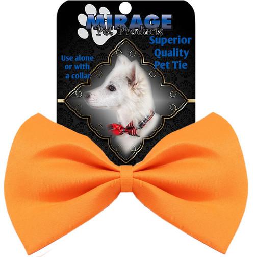 Plain Orange Bow Tie