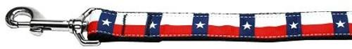 Texas Flag Nylon Dog Leash 6 Foot