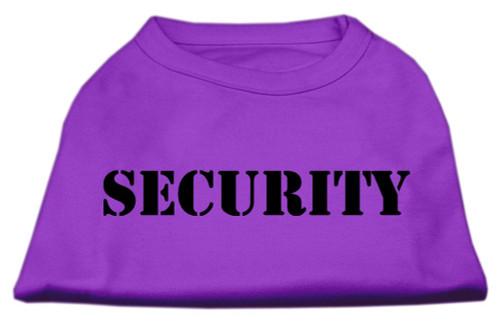 Security Screen Print Shirts Purple 6x (26)