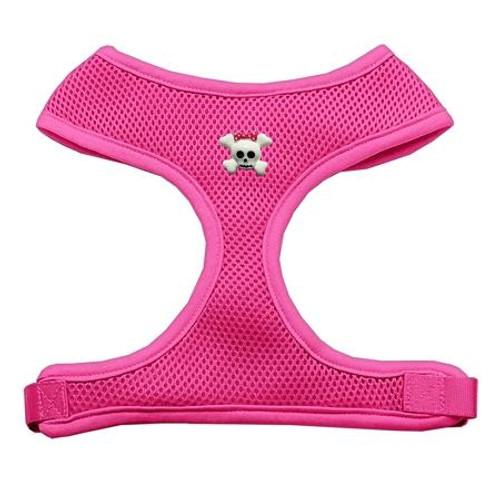 Girly Skull Chipper Pink Harness Medium